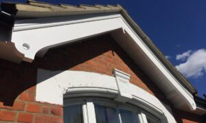 Custom bargeboard roofline installation