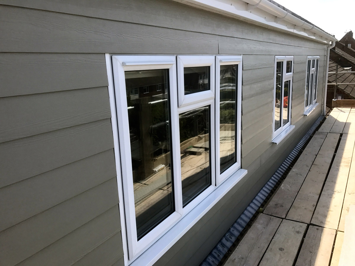 Hardieplank 174 Installation Taupe Whitstable Fascia Solutions